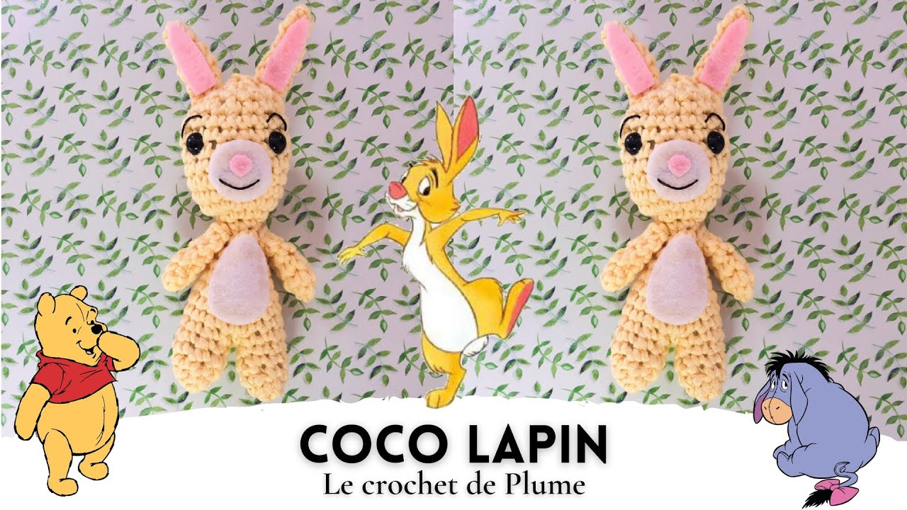 Tutoriel Lapin de printemps 🌸🐰 - Cat's Créa Crochet | 720x1280