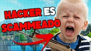 SCAMMER HAS *HACKED* WEAPONS AND LOSES ALL - Fortnite Save The World
