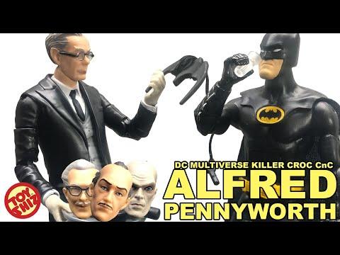Alfred Pennyworth Batman Butler-DC Multi-Univers-No Killer Croc BAF