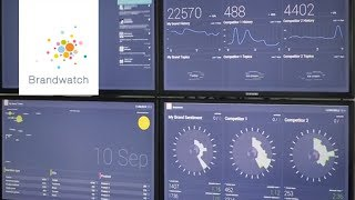 Brandwatch Vizia: Beautiful data at your command