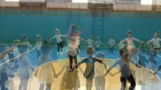 Гимнастика для детей, открытый урок, девочки