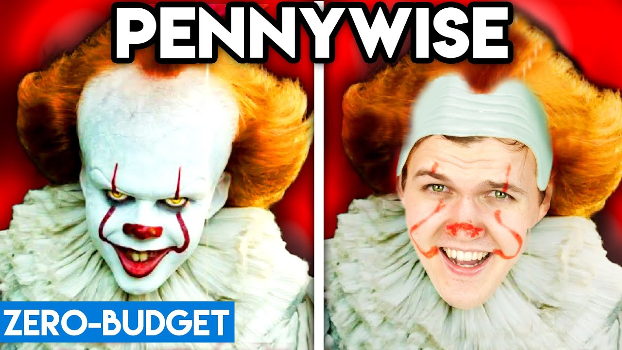 Download PENNYWISE WITH ZERO BUDGET! (Pennywise the Clown 'IT' PARODY)