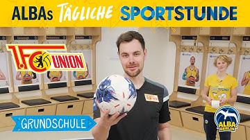 Grundschule 12  | Fußball-Sondersendung mit dem 1. FC Union Berlin | ALBAs tägliche Sportstunde