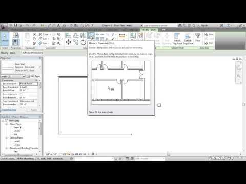 AUTODESK REVIT ARCHITECTURE COURSE Part 4   Learning Autodesk
