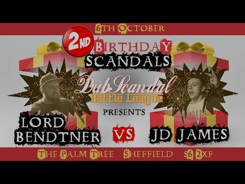 LORD BENDTNER VS JD JAMES | DubScandal Rap Battle