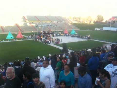 Midnite Express MNX @ Gathering Of Nations Powwow 2010 GON Saturday Nite