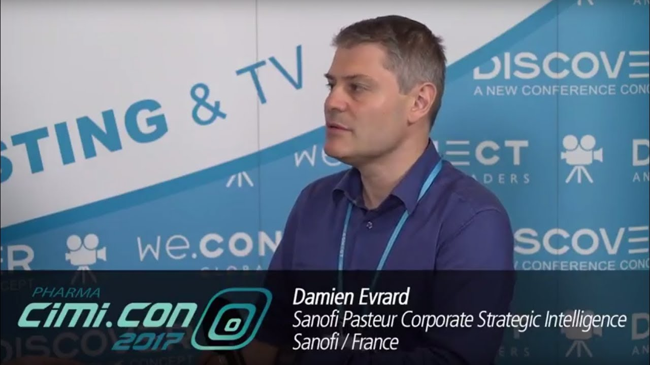 Pharma CiMi CON 2017: Interview with Damien Evrard, Sanofi Pasteur