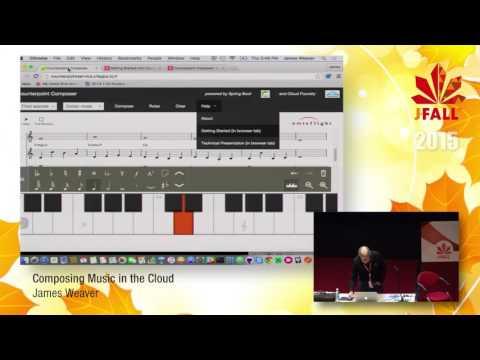 J-Fall 2015 Speaker James Weaver - Composing Music in the Cloud
