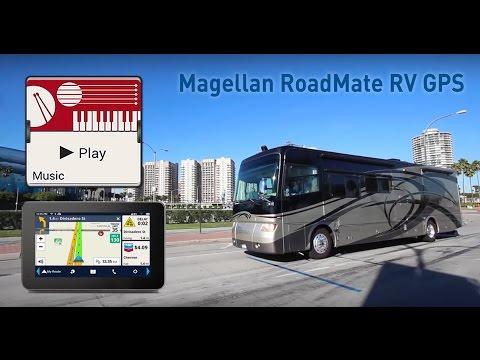 Magellan RV GPS Navigators -  Designed for RVers