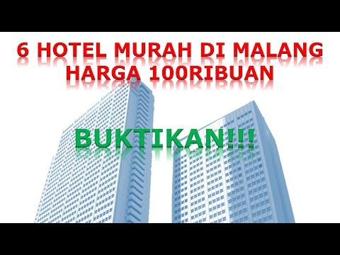 5 penginapan / hotel TERMURAH di malang harga 100ribuan, Backpacker masukkk!