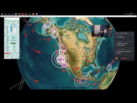2/20/2017 -- Nightly Earthquake Update + Forecast -- California hit , New West Pacific WARNING