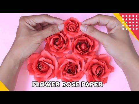 Cara Membuat Origami Bunga Mawar   Cara Membuat Origami   Bunga ...   360x480