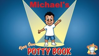 Michael's Personalized Potty Training Book