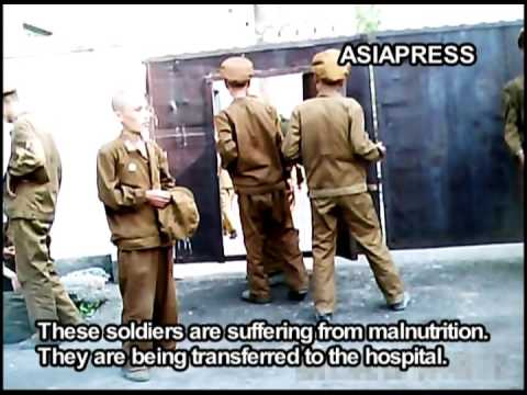 North Korea - Starving Korean People's Army Soldiers