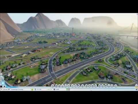 Cities of Tomorrow Mega City (Sim City: 2013 - Timelapse Build)