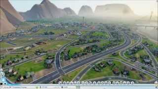 Cities of Tomorrow Mega City (Sim City: 2013 - Timelapse Build)