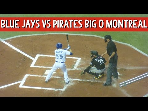 #Baseball Blue Jays vs Pirates Olympic Stadium Montreal