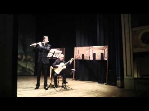 Kreisler: Liebesleid S. Zampetti, flute - L.Verrini, guitar