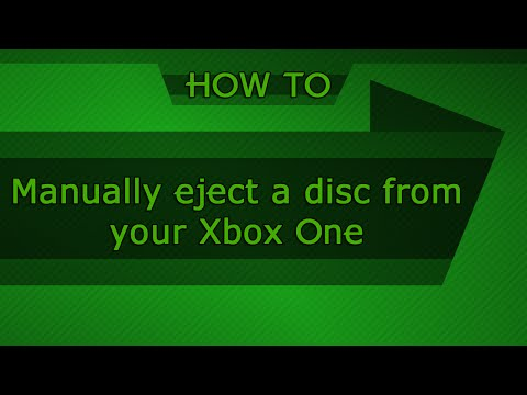 Manually eject a disc from your Xbox One console