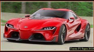 Toyota F1 Supra 2018 Twin Turbo Manual Speed