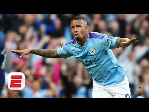 Gabriel Jesus accepts role behind Sergio Aguero at Manchester City - Pep Guardiola | Premier League