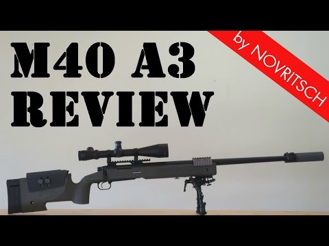 M40A5 Airsoft Sniper Review - Part 1