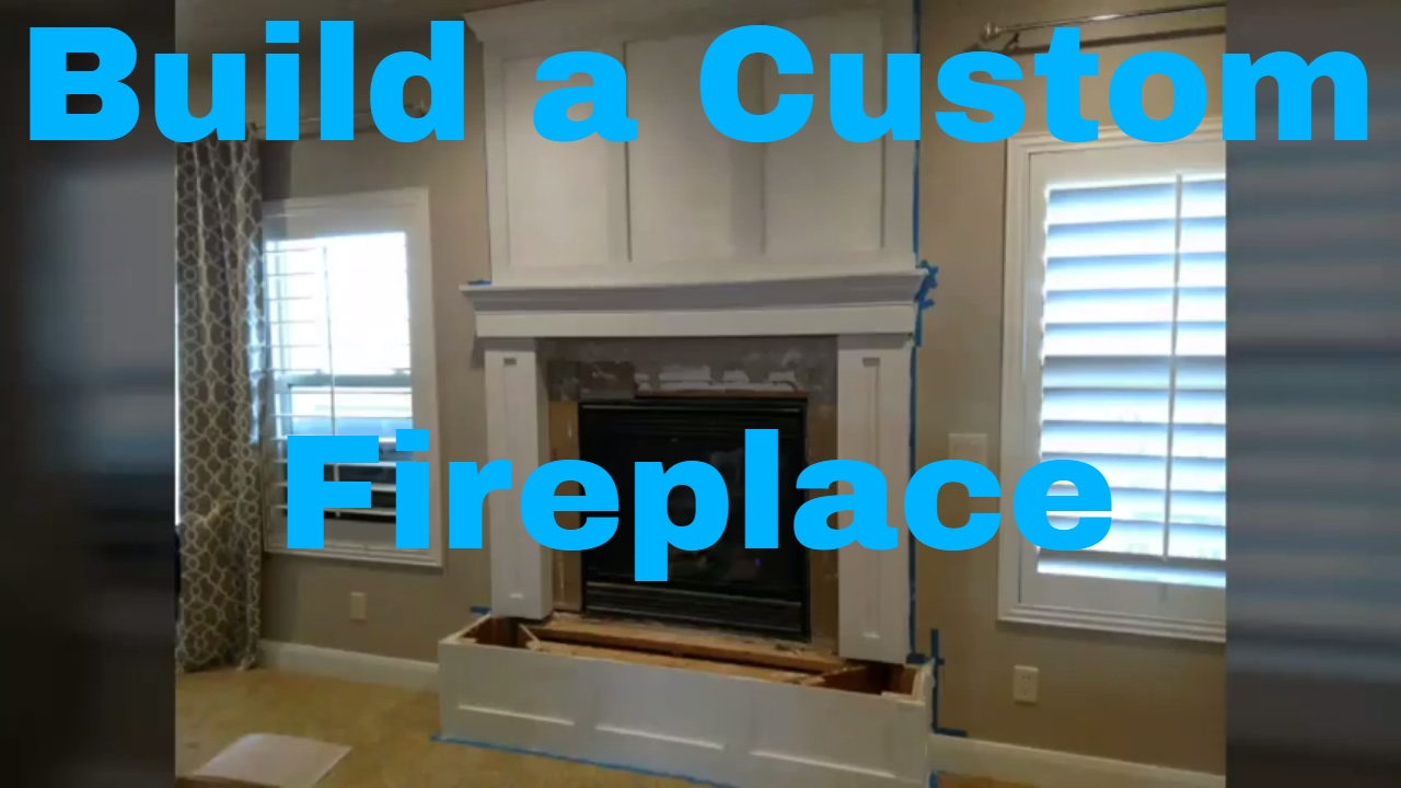 How To Build A Fireplace Mantle Finish Carpentry Diy