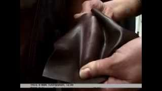 видео Как отличить кожу от кожзаменителя?