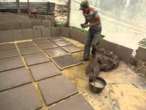 Moldeo pisos artesanales youtube - Como se echa un piso de cemento ...