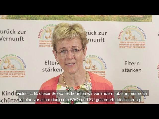 Statement von Frau Nationalrätin Verena Herzog
