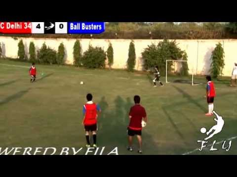 FC Delhi 34 vs Ball Busters, 5-a-side Football League YoungSTARS
