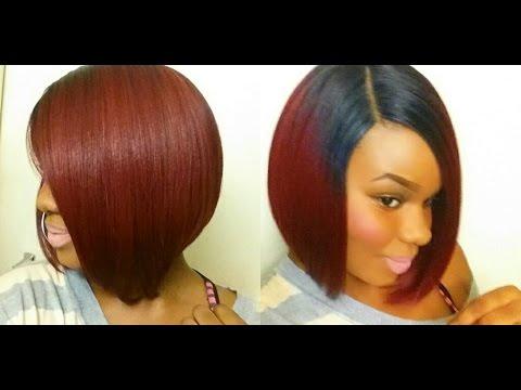 HOT BOB Sensationnel Empress Edge L Part Wig Rihanna