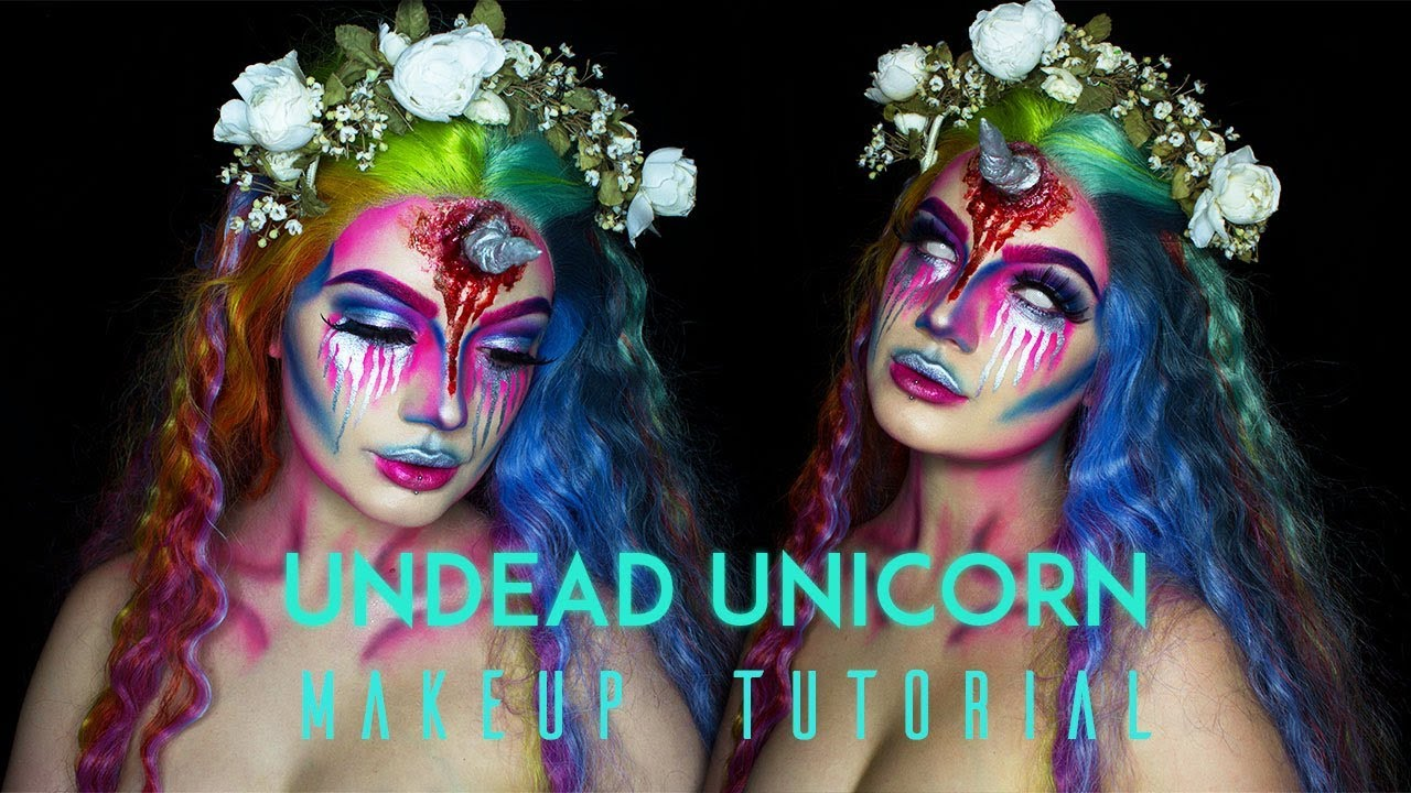 unicorn makeup tutorial easy
