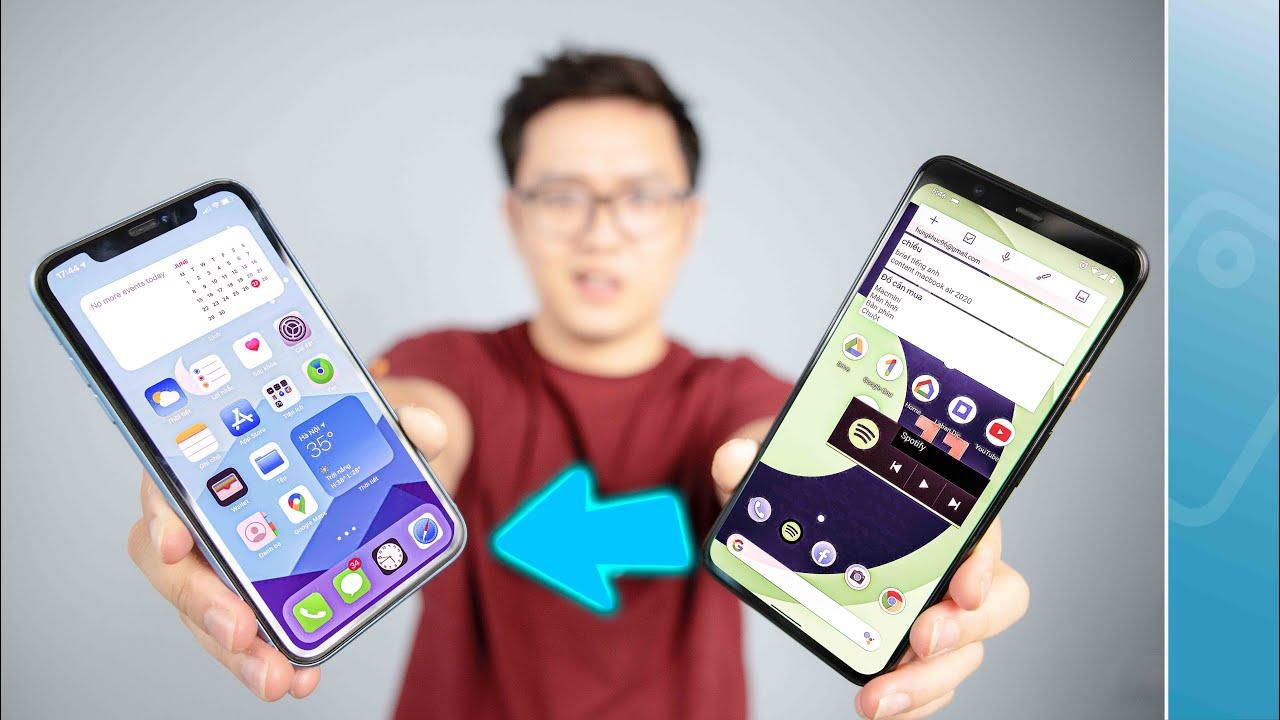 "Android 11 ""học hỏi"" iOS - Đơn Giản!!"