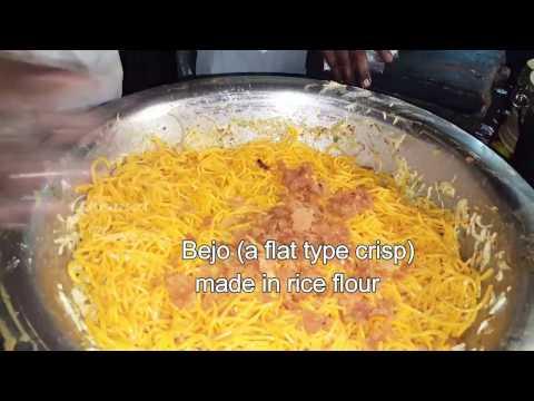Chennai street food Atho | Burma noodles Part 2 | Indian street food Chennai footra