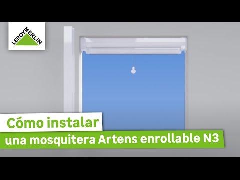 Cómo instalar la mosquitera Artens enrollable N3 · LEROY MERLIN