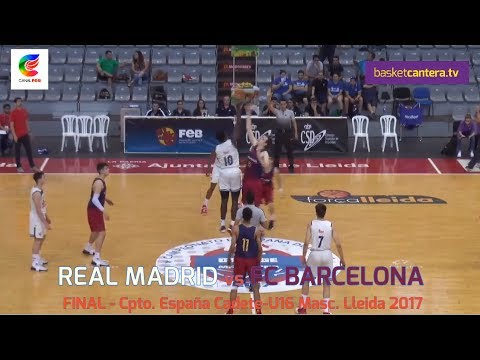 Final Cadete REAL MADRID vs. FC BARCELONA.- Campeonato España U16M 2017