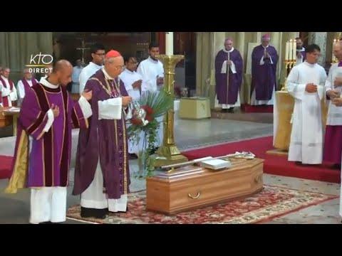 Messe d'obsèques du cardinal Etchegaray
