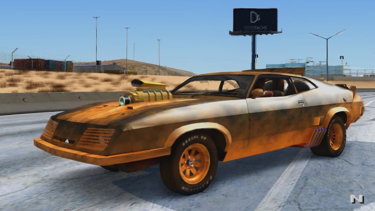 1973 ford falcon mad max fury road gta san andreas 1440p 2 7k youtube. Black Bedroom Furniture Sets. Home Design Ideas