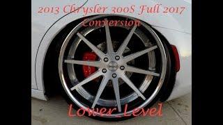 2017 Chrysler 300S full conversion