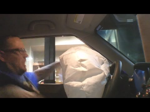 AirBag Drive Thru Pranks - Deployed & Freaks People Out