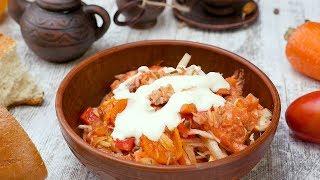 Ленивые голубцы с фаршем и рисом - Рецепты от Со Вкусом