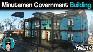 Fallout 4: Sanctuary - Minutemen Government Building