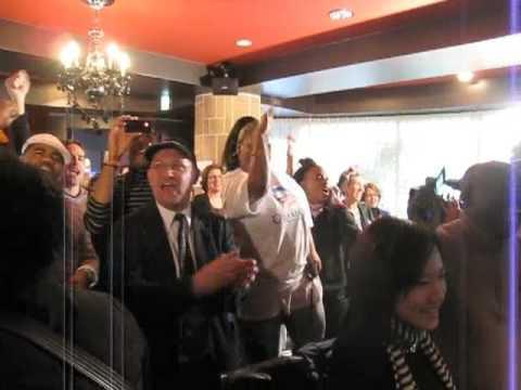 Obama supporters rejoice in Tokyo