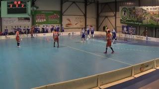 16. 3. 2019 MEX 1. štvrťfinále play off Tsunami Záhorská Bystrica - Fat Pipe Snipers Bratislava, SZFB