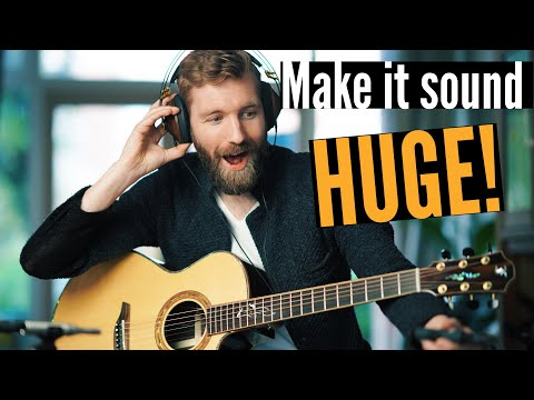 How I Record & Mix Acoustic Guitar (revealing my BIG secret!)
