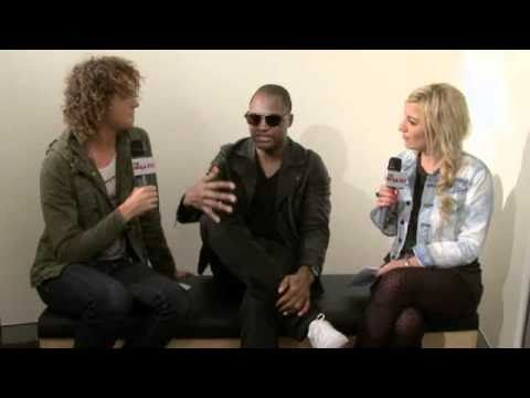 Hit List TV Interview with Taio Cruz part #1