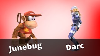 WTT2 - Junebug (Diddy Kong) vs Darc (Sheik) - Project M