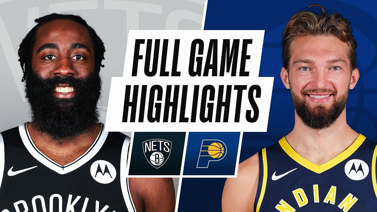 NETS at PACERS | FULL GAME HIGHLIGHTS | March 17, 2021