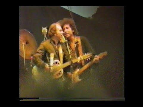 Bob Dylan, Van Morrison, Santana It's All Over Now Baby Blue, Slane Castle, 1984